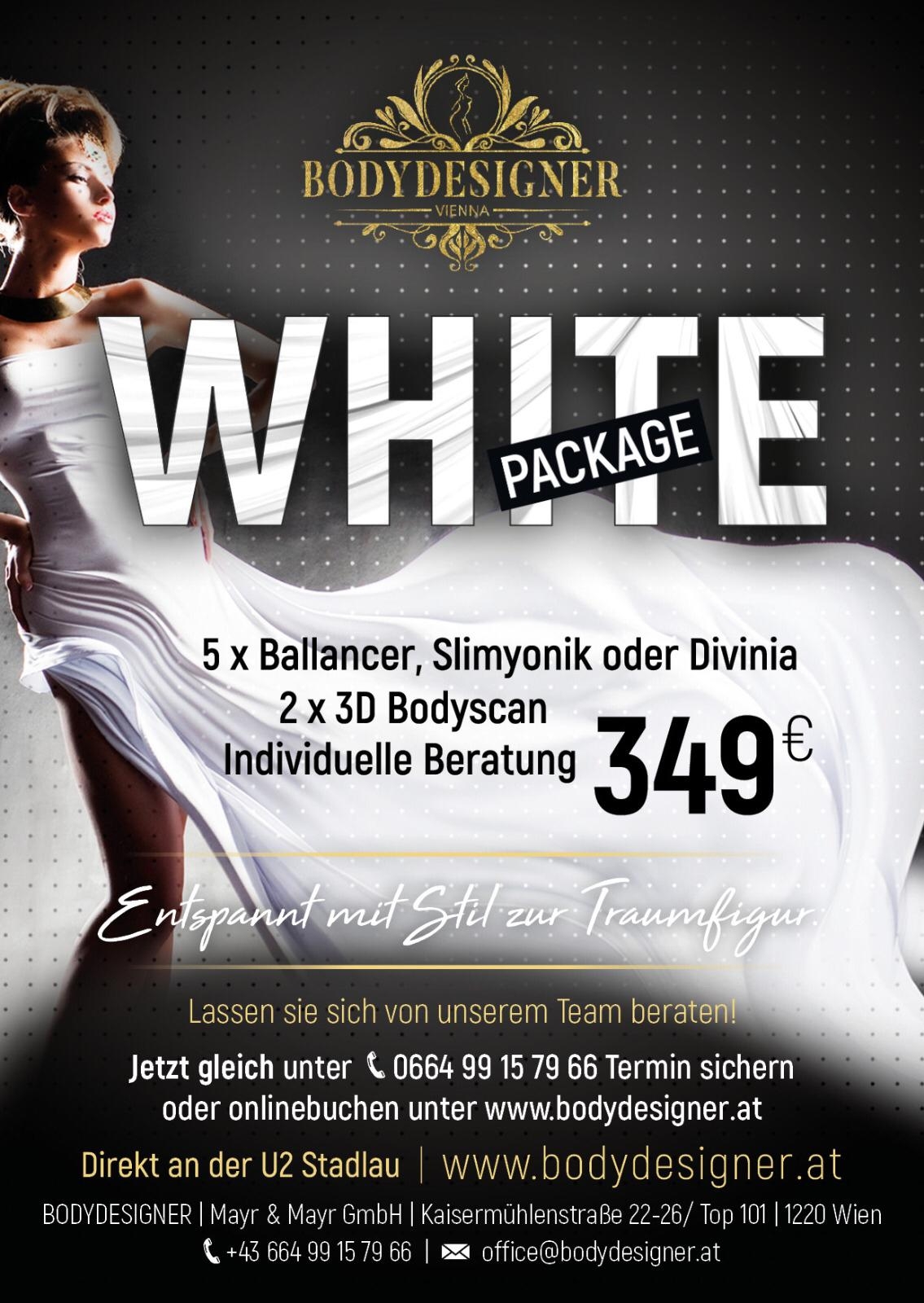 Bodydesigner White Package