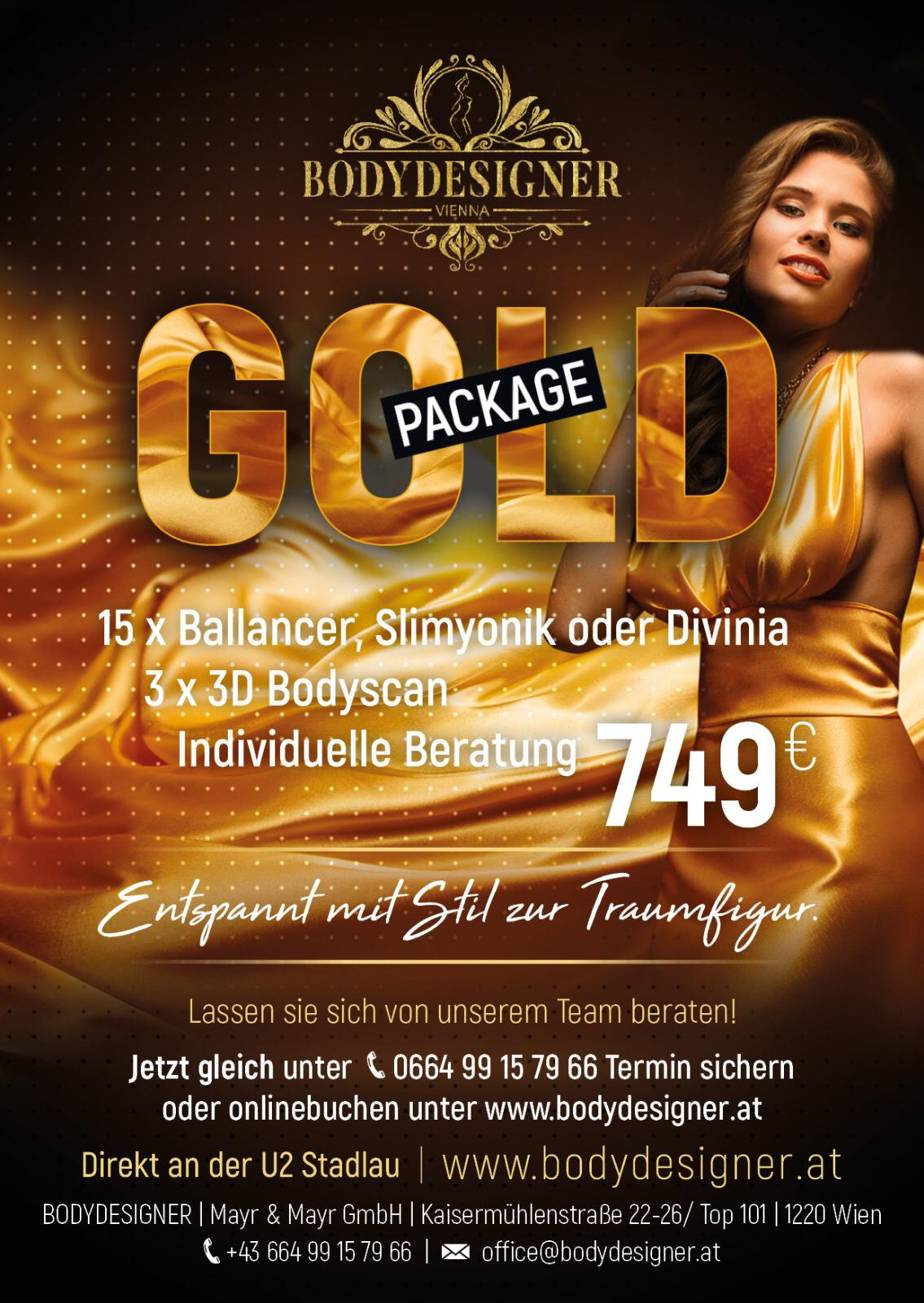 Bodydesigner Gold Package