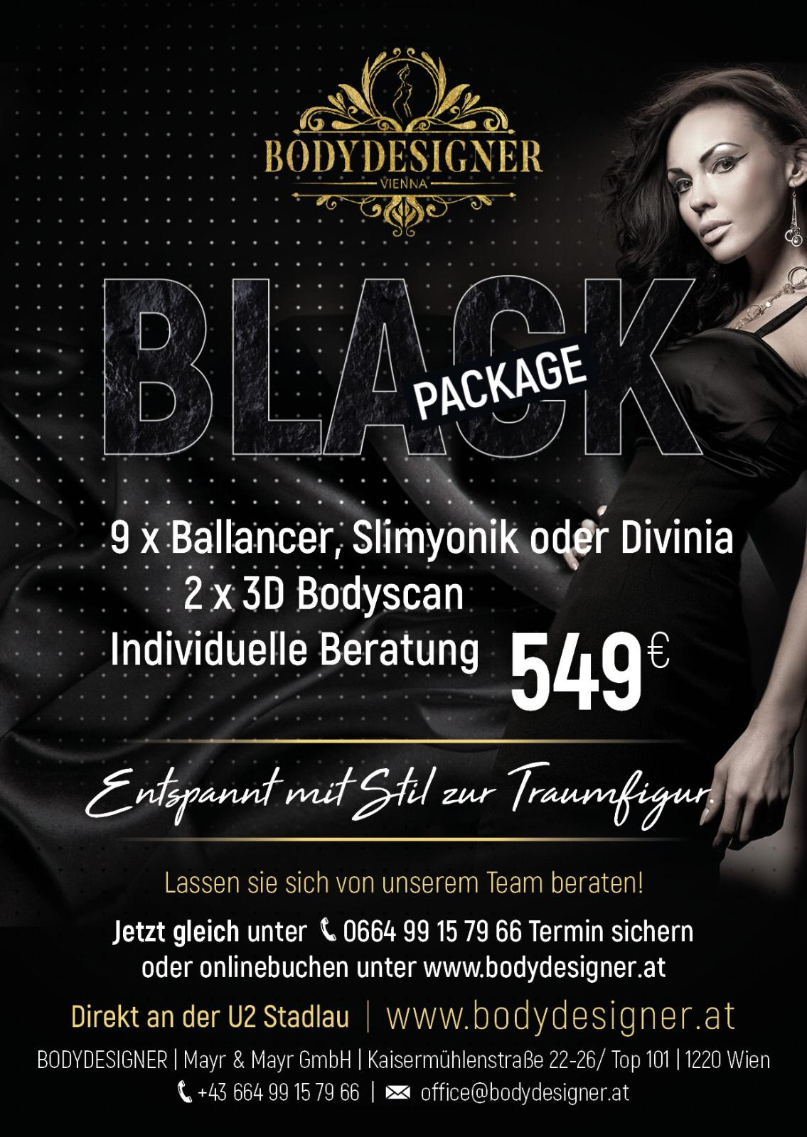 Bodydesigner Black Package